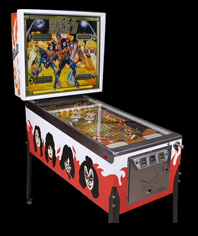 Kiss Pinball Picture
